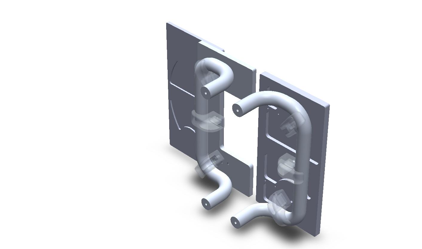 Customize Square Aluminum Sliding Split Plate