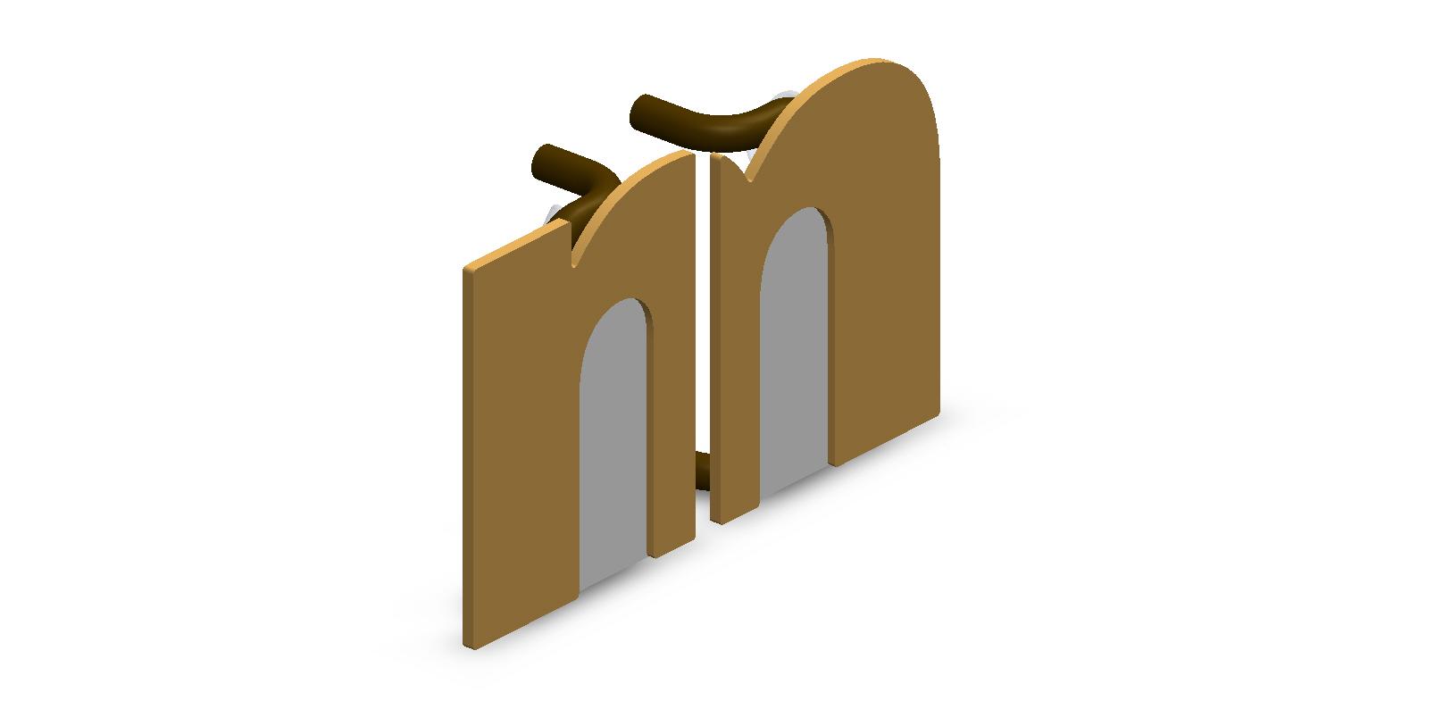 Customize M Split Door Handles for Small Businesses
